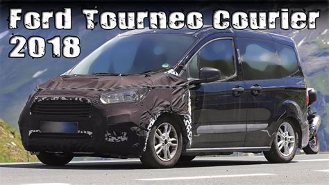 ford tourneo courier 2018 new 2018 ford tourneo courier prototype facelift