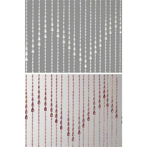 Door Bead Curtains Spencers by Beaded Door Curtain Window Screen Teardrop Design Plastic
