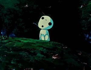 gif mine disney hayao miyazaki anime Princess Mononoke ...