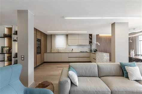 Elegant Interior Design Achieved With Nature Colors