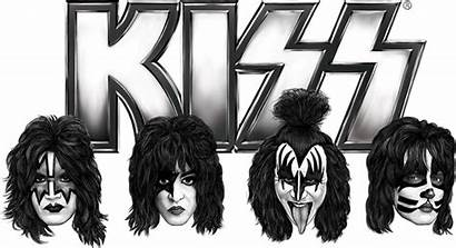 Kiss Band Rock Crocs Version Transparent History
