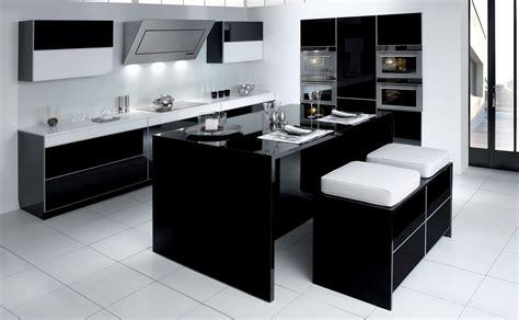 cuisines teisseire cuisine ariane noir gloss design et sur mesure par