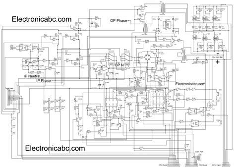 Circuit Diagram Of 600va Inverter by Circuit Diagram Ups 500w Wiring Library