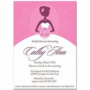 bridal shower invitations bridal shower invitations With wedding invitation samples vistaprint