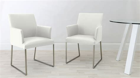Monti Leather Armchair Dining Chairs