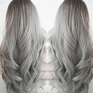 tumblr hair - Google Search   Hair   Pinterest   Grey hair