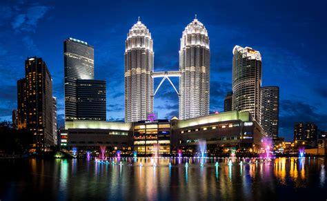 Hd Dark Abstract Wallpapers Wallpaper Petronas Towers Malaysia Kuala Lumpur Skyline Metropolitan 4k World 9466
