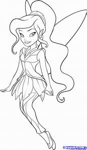 How to Draw Vidia, Step by Step, Disney Characters ...