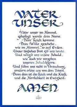 KalligrafieVerlag Hamburg, Shop für Kalligraphie Postkarten