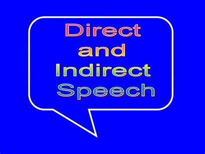 Indirect Direct Speech Presentation Ppt Powerpoint Skip