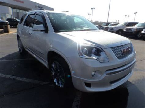 purchase   gmc acadia denali   kings water