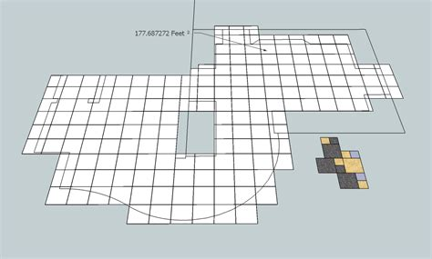 digitile use a sketchup model to layout estimate and