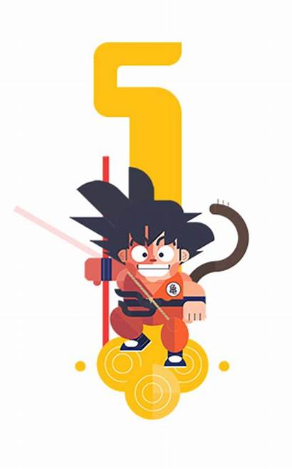 Vector Dragon Ball Cool Remember Them Character