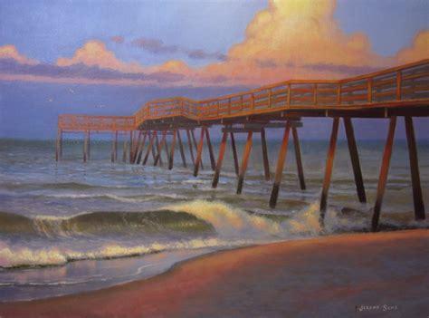 avon pier painting ? Jeremy Sams Art