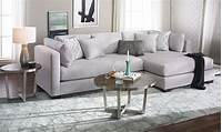 oversized sectional sofas Parker Oversized Contemporary Sectional Sofa | Haynes ...