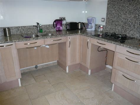 kitchen design for wheelchair user 3 bedroom accommodation accessible to all 7935