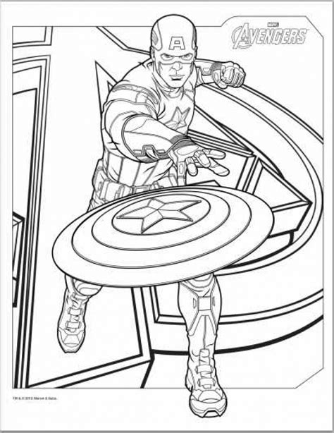 captain america coloring pages  kids az coloring pages
