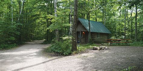 washington island campground county wi door open cabins pond october yes