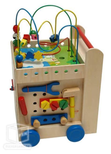 multijeux cube en bois enfant 5 plateformes d 233 veil de jeux jouets en bois