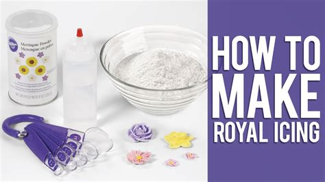 How To Make Wilton Royal Icing Youtube