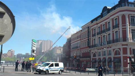 toulouse incendie all 233 es jean jaur 232 s immeuble du duplex