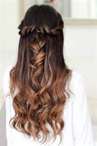 easy wedding hairstyles 20 awesome half up half wedding hairstyle ideas