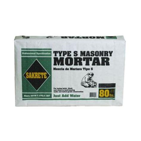 amerimix mortar type s quikrete 80 lb type s mason mix 113680 the home depot