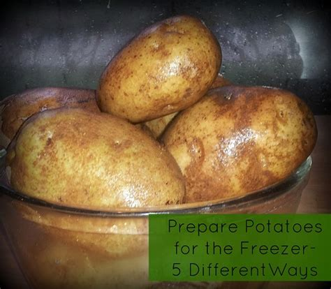 different ways to do potatoes prepare potatoes for the freezer 5 different ways bargainbriana