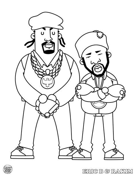 hip hop coloring book hiphop thegoldenera 563 presents hip hop coloring