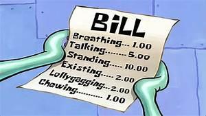 Spongebob Squarepants - Bill
