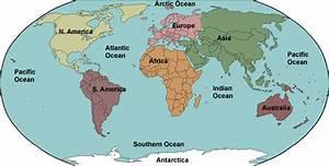 Continents & Oceans - Mr Ott's Classroom Wiki