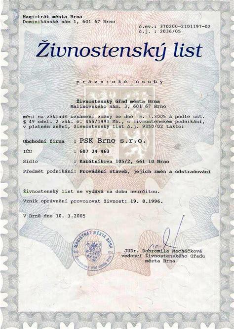 about it or list it dokumenty psk brno