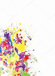 Tache De Couleur Peinture Fond Blanc : le fond color abstrait de la tache image vectorielle 9846227 ~ Melissatoandfro.com Idées de Décoration