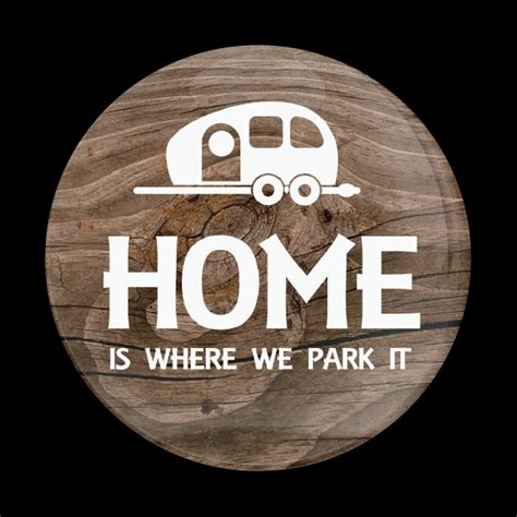 Dome Badgehome Is Where We Park It