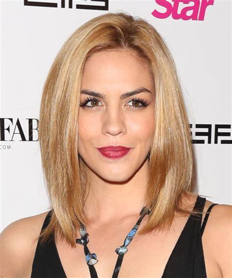 Katie Maloney Medium Straight Casual Hairstyle