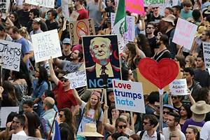 Protesters Take Anti-Trump Message to His Doorstep, and ...