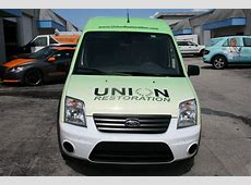 Mold Restoration Ford Transit Connect 3M Vinyl Vehicle