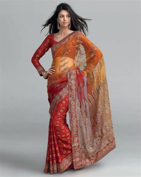 charme infini  modeles de sari indou tres chic