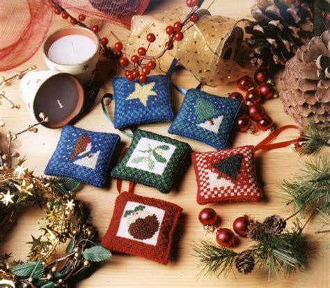 christmas tree decorations tapestry kit set