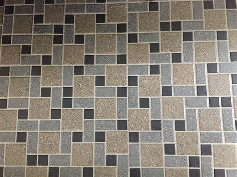 Nicole's Diy Daltile Mosaic Tile Floor  Retro Renovation