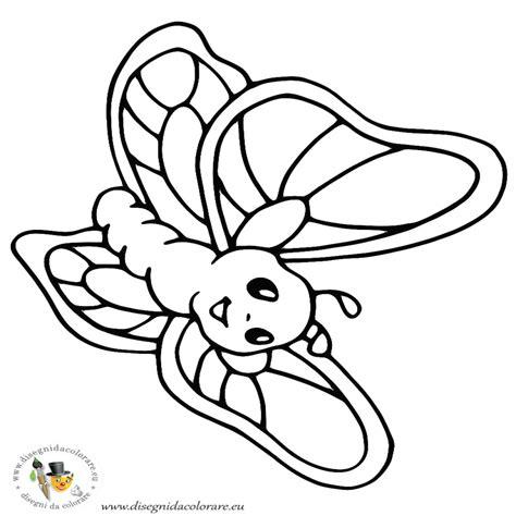 disegni per bambini da disegnare farfalle da colorare e ritagliare