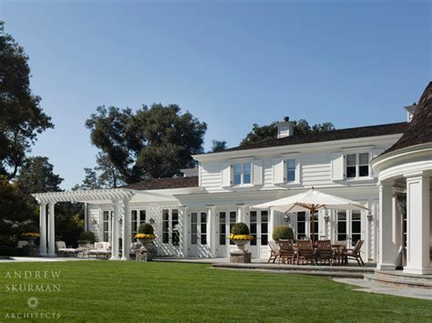 Lighting Ideas For Kitchens - an american country house traditional exterior san francisco by andrew skurman architects