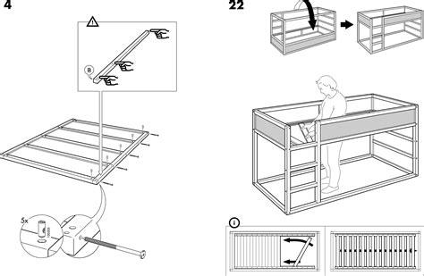 Ikea Bed Gebruiksaanwijzing by Handleiding Ikea Kura Bed Pagina 6 14 Dansk
