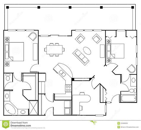 floorplan stock illustration illustration  home dining