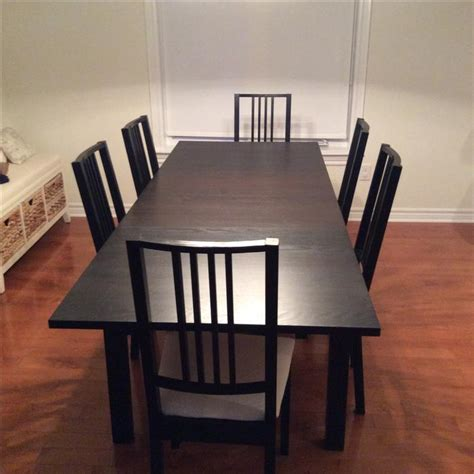 ikea dining room table and chairs for sale west