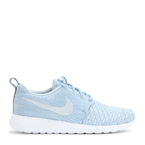 Nike Light Blue Shoes by Lyst Nike Roshe One Flyknit Sneakers In Blue
