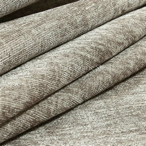 Chenille Upholstery by New Soft Plain Grey Chenille Look Fabric Curtains Material