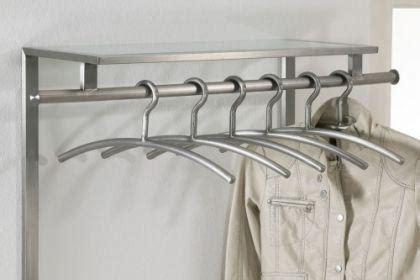 garderobenhaken mit ablage wandgarderobe aus edelstahl und ablage aus glas garderobe mit kleiderstange und haken aus