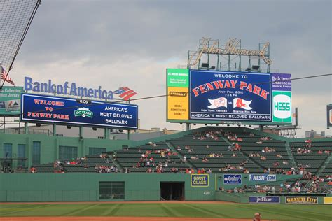 Fenway, 7 July 12, Red Sox vs Yankees (With images) | Red ...