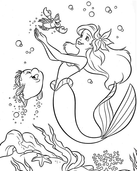 Colouring Pages Coloring Pages Disney Princess Little